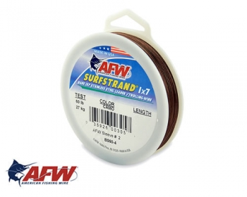 AFW Surfstrand 1x7 Stainless Steel 90 lbs Meterware