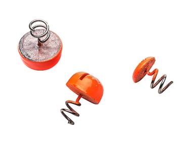 Svartzonker Screw-in Dot Fl. Orange 3 St.