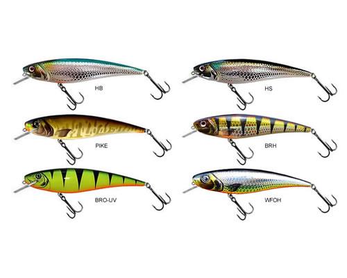 14,5cm neu! alle Farben slow Floating 120gr Hybrida K-5 Wobbler